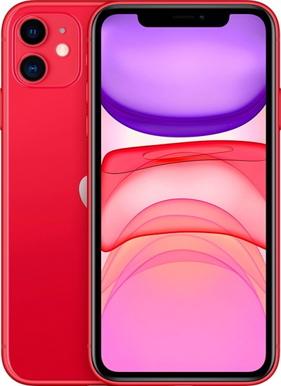Смартфон Apple iPhone 11 128Gb Red  — фото