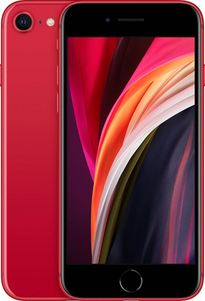 Смартфон Apple iPhone SE (2020) 128Gb Red — фото