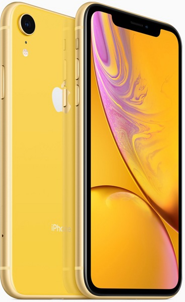 Смартфон Apple iPhone Xr 64Gb Yellow  — фото