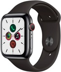 Смарт-часы Apple Watch Series 5 LTE 44mm Stainless Steel Space Black (MWWK2)