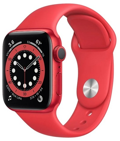 Смарт-часы Apple Watch Series 6 44mm Aluminum Red (M00M3) — фото