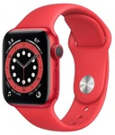 Смарт-часы Apple Watch Series 6 44mm Aluminum Red (M00M3)