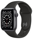Смарт-часы Apple Watch Series 6 44mm Aluminum Space Gray (M00H3)